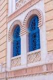 Dettaglio delle finestre arabe fotografia stock libera da diritti