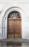 Dettaglio delle porte della chiesa ortodossa Immagine Stock