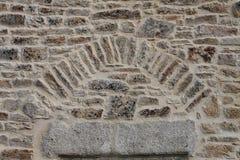Dettaglio delle rocce e del lavoro in pietra Immagini Stock Libere da Diritti
