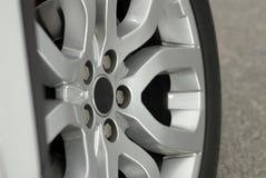 Dettaglio di alluminio della ruota di sport Fotografie Stock Libere da Diritti
