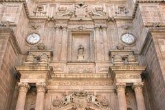 Dettaglio di Almeria Cathedral Immagini Stock