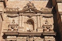 Dettaglio di Almeria Cathedral, Spagna Fotografia Stock
