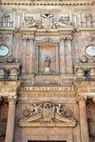 Dettaglio di Almeria Cathedral, Spagna Immagini Stock