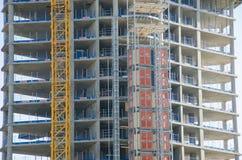 Dettaglio di alta ricostruzione dell'alloggio di aumento su Tamigi Chelsea Fotografie Stock Libere da Diritti