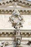 Dettaglio di architettura dei Di Santa Maria del Giglio di Chiesa a Venezia, Italia immagine stock