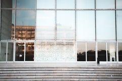 Dettaglio di architettura del dei Congressi Roma Eur di Palazzo Fotografia Stock