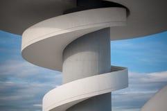 Dettaglio di architettura di Niemeyer Fotografia Stock Libera da Diritti