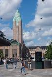 Dettaglio di architettura di Rautatientori Helsinki Fotografia Stock