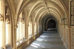 Dettaglio di architettura nell'università di Princeton Immagini Stock