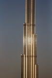 Dettaglio di Burj Khalifa Il Dubai, UAE - 14/NOV/2016 Fotografia Stock Libera da Diritti