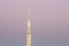 Dettaglio di Burj Khalifa Il Dubai, UAE - 14/NOV/2016 Immagine Stock
