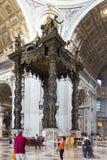 Dettaglio di Città del Vaticano della basilica di St Peter Fotografie Stock
