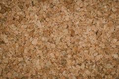 Dettaglio di colore di struttura di Cork Board Wood Background di superficie Fotografie Stock
