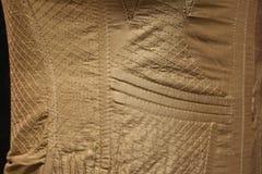 Dettaglio di cucitura sul corsetto Fotografia Stock Libera da Diritti
