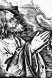 Dettaglio di Gesù nel giardino delle olive Immagini Stock