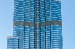 Dettaglio di grattacielo nel Dubai Fotografia Stock