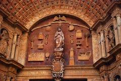 Dettaglio di La Seu di Mallorca Fotografia Stock