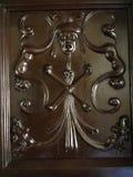 Dettaglio di legno dell'intarsio immagine stock libera da diritti