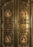 Dettaglio di mobilia e dell'ornamento al palazzo di Versailles Fotografia Stock