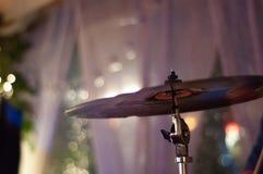Dettaglio di musica in diretta fotografia stock