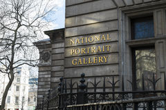 Dettaglio di National Portrait Gallery Fotografia Stock