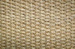 Dettaglio di oggetto di vimini/di struttura del oggetto di vimini Fotografie Stock
