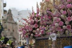 Dettaglio di ornamento floreale fotografia stock libera da diritti
