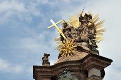 Dettaglio di peste della trinità santa Immagine Stock