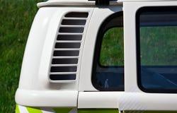 Dettaglio di retro furgone immagini stock libere da diritti