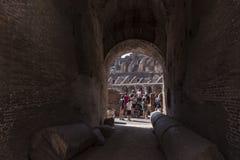 Dettaglio di Roman Coliseum a Roma Fotografia Stock Libera da Diritti