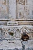 Dettaglio di Roman Stonework storico, Croazia immagini stock