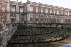 Dettaglio di Royal Palace di Aranjuez fotografie stock