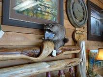 Dettaglio di Rustic Timbers Furniture Company Fotografia Stock