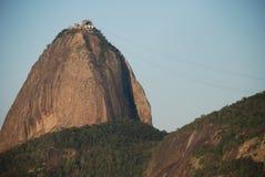 Dettaglio di Sugar Loaf - Rio immagini stock
