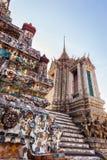 Dettaglio di Temple of Dawn Fotografia Stock