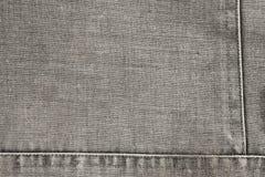 Dettaglio di tessuto grigio obsoleto immagine stock libera da diritti