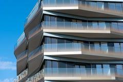 Dettaglio di un condominio moderno a Berlino Fotografie Stock Libere da Diritti