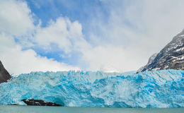 Dettaglio di un ghiacciaio Perito Moreno Immagini Stock Libere da Diritti