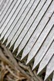 Dettaglio di un tetto di legno Fotografia Stock