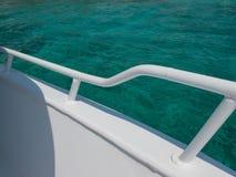 Dettaglio di un yacht Immagini Stock Libere da Diritti