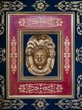Dettaglio di una decorazione che orna l'altare della cattedrale Fotografia Stock Libera da Diritti