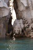 Dettaglio di una fontana di quattro fiumi Immagini Stock