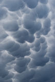 Dettaglio di una nuvola scura astratta Immagini Stock