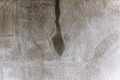 Dettaglio di una parete bianca bagnata Fotografia Stock