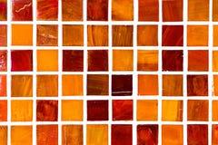 Dettaglio di una parete del mosaico Fotografia Stock Libera da Diritti