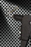Dettaglio di una pistola di ribattino - rivettatrice della mano Immagine Stock Libera da Diritti