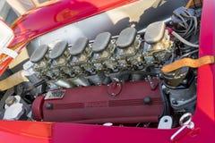 Dettaglio di una replica di Ferrari 250 Testarossa fotografia stock libera da diritti