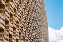 Dettaglio di una struttura originale: Parete della cassa di legno Fotografia Stock Libera da Diritti