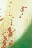 Dettaglio di vecchia pittura di colore della parete della crepa Fotografie Stock Libere da Diritti