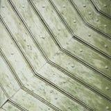 Dettaglio di vecchia struttura verde della porta Fotografia Stock